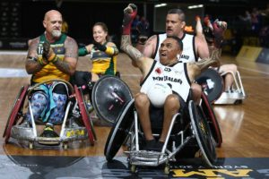 NZL Quadriplegic scores against AUS