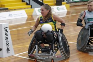 Trudi Lines wheelchair rugby